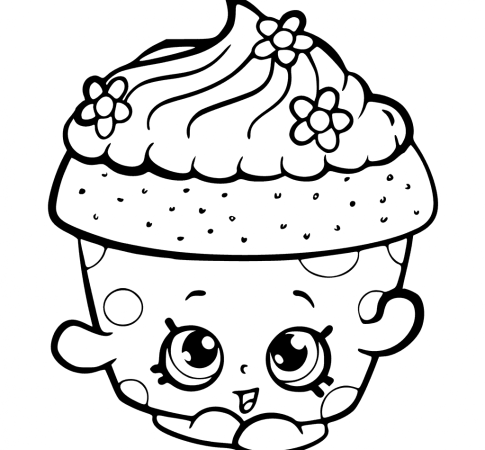 easy cupcake coloring pages printable cupcake coloring pages Раскраски Рисунки и pages easy coloring cupcake