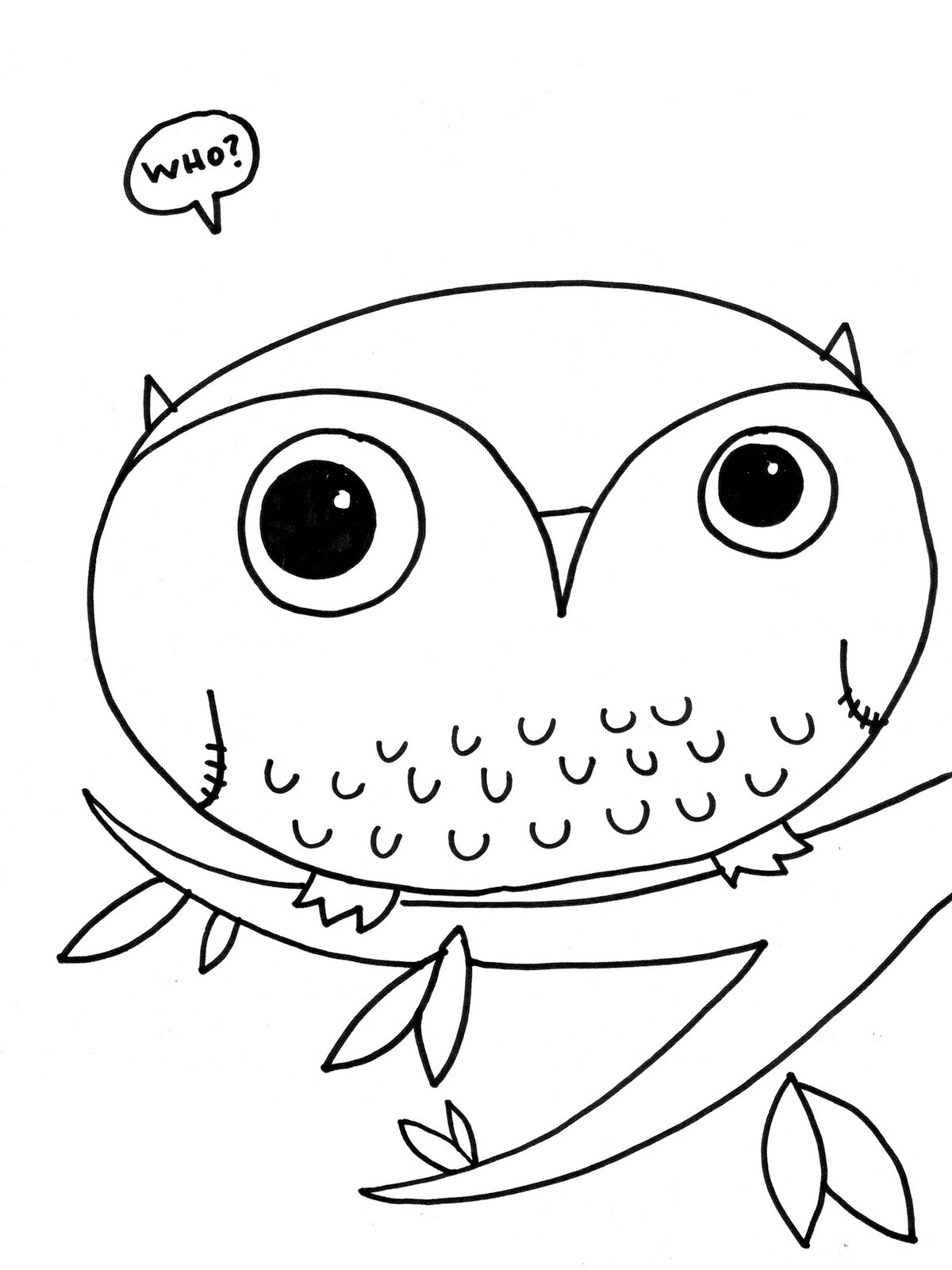 easy cute owl coloring pages easy cute owl drawing at getdrawings free download pages easy owl coloring cute