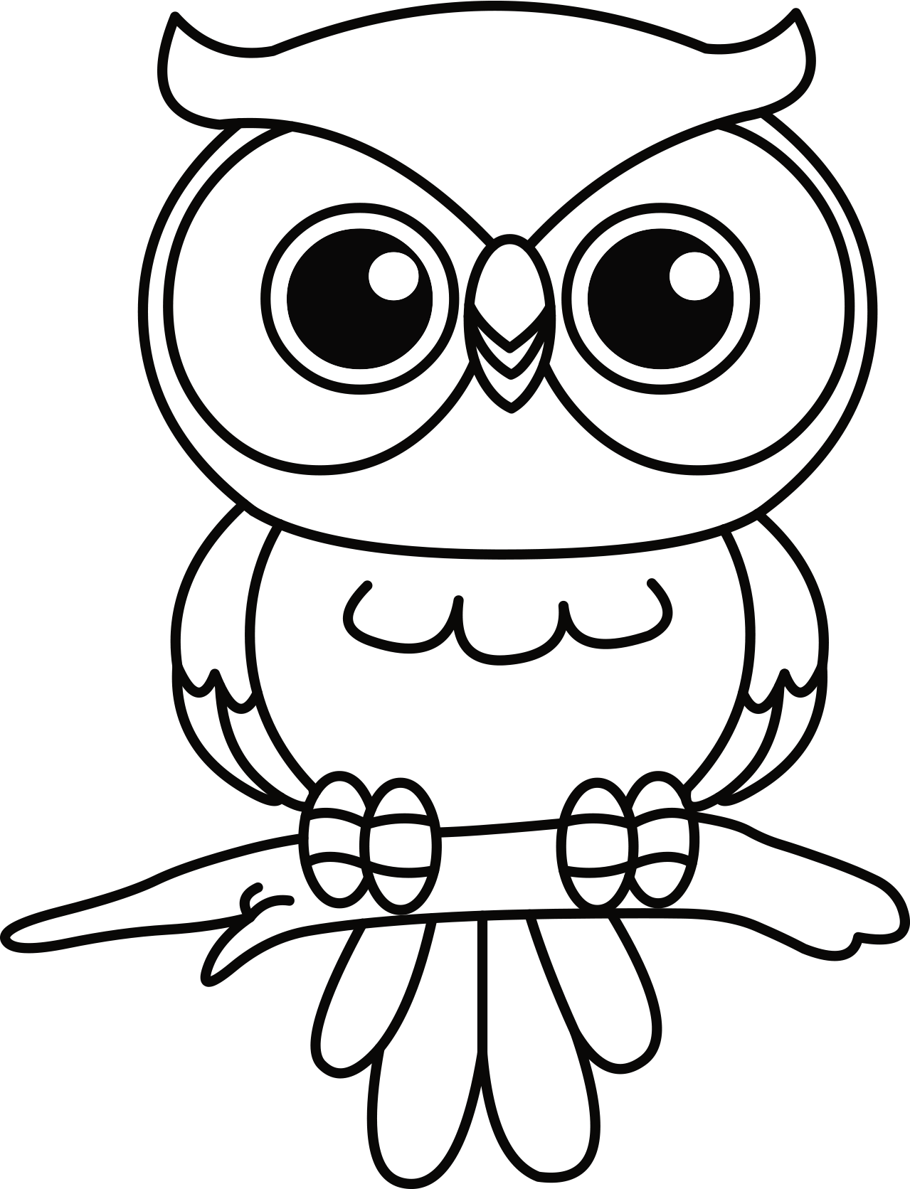 easy cute owl coloring pages free easy to print owl coloring pages owl coloring easy coloring cute pages owl
