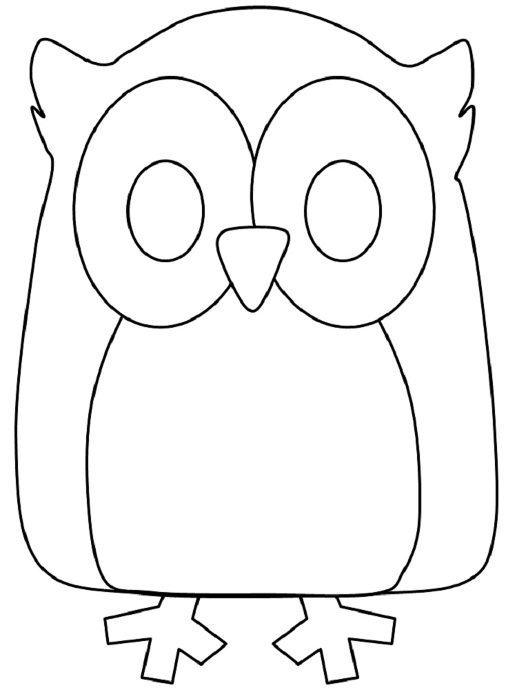 easy cute owl coloring pages owl easy drawing at getdrawings free download pages coloring cute easy owl