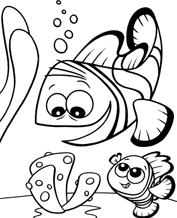 easy fish coloring pages easy coloring page fish topcoloringpagesnet fish pages coloring easy