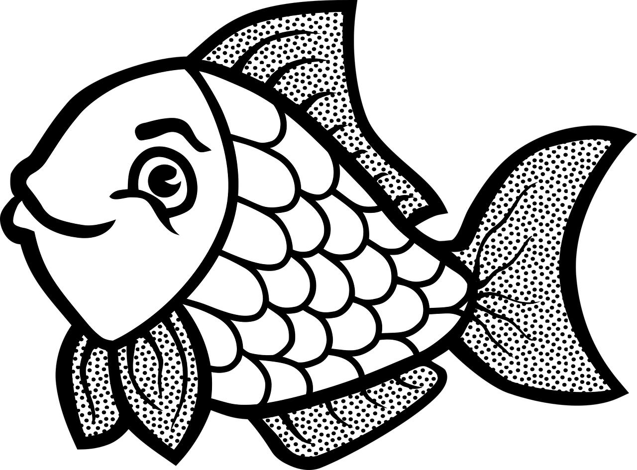 easy fish coloring pages easy fish coloring pages at getdrawings free download easy pages fish coloring