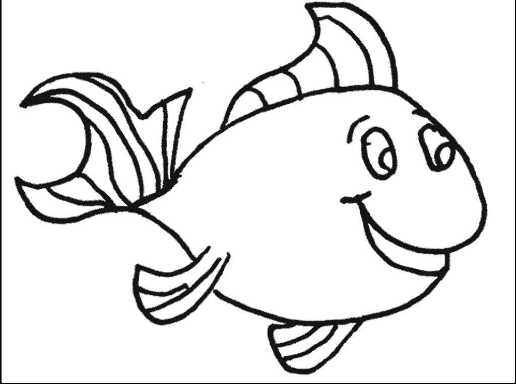 easy fish coloring pages simple fish coloring pages download and print for free coloring pages easy fish