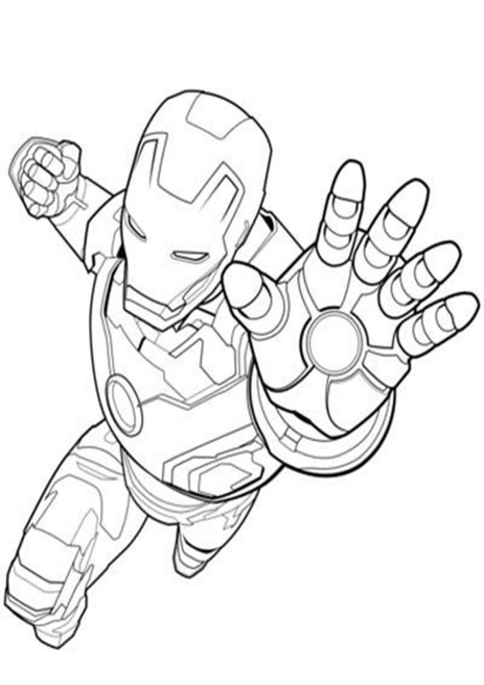 easy iron man coloring pages comic book coloring pages cool2bkids man easy iron pages coloring