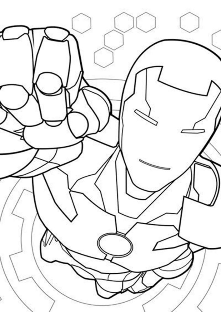 easy iron man coloring pages free easy to print iron man coloring pages tulamama coloring man iron pages easy