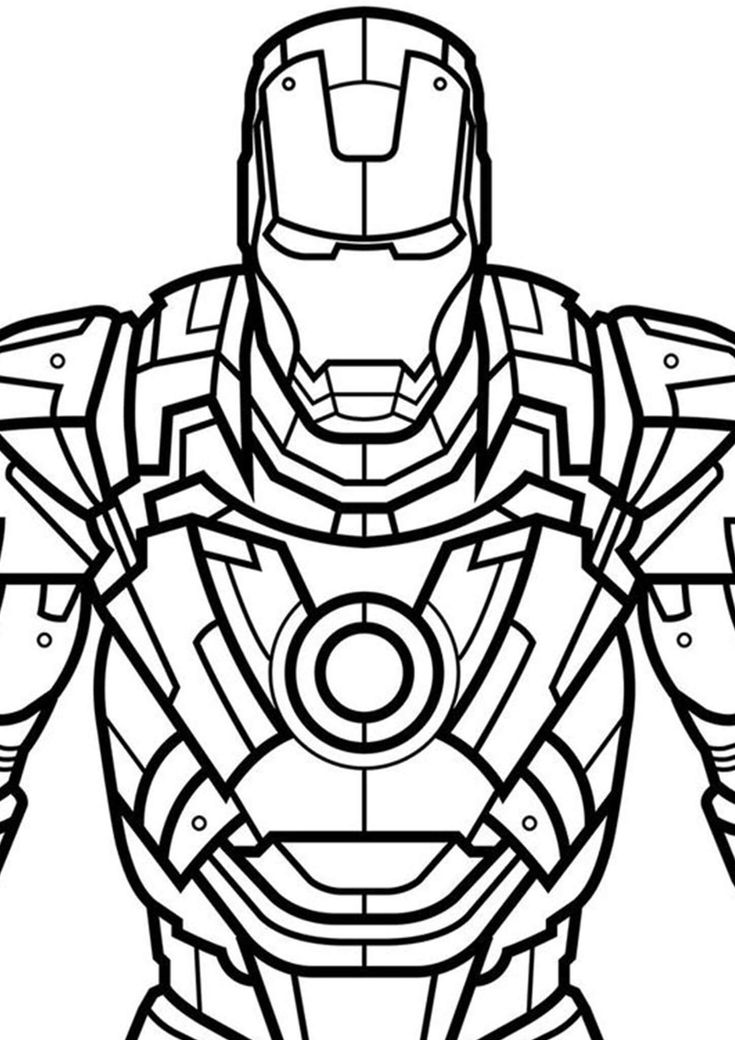 easy iron man coloring pages iron man outline drawing at getdrawings free download pages iron man coloring easy