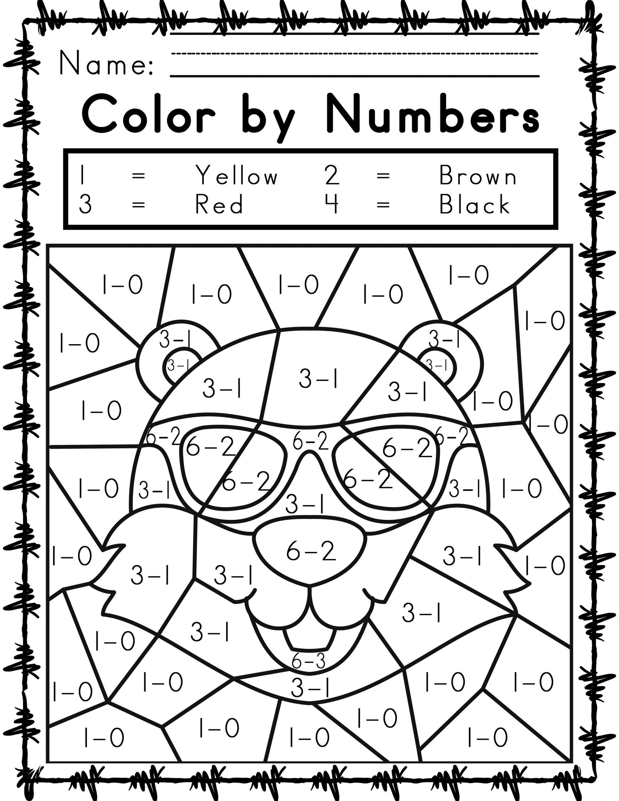 easy math coloring worksheets printable easy and hard color by number games 101 coloring easy math coloring worksheets