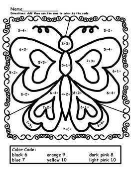 easy math coloring worksheets simple addition color by numbers worksheets math easy worksheets math coloring