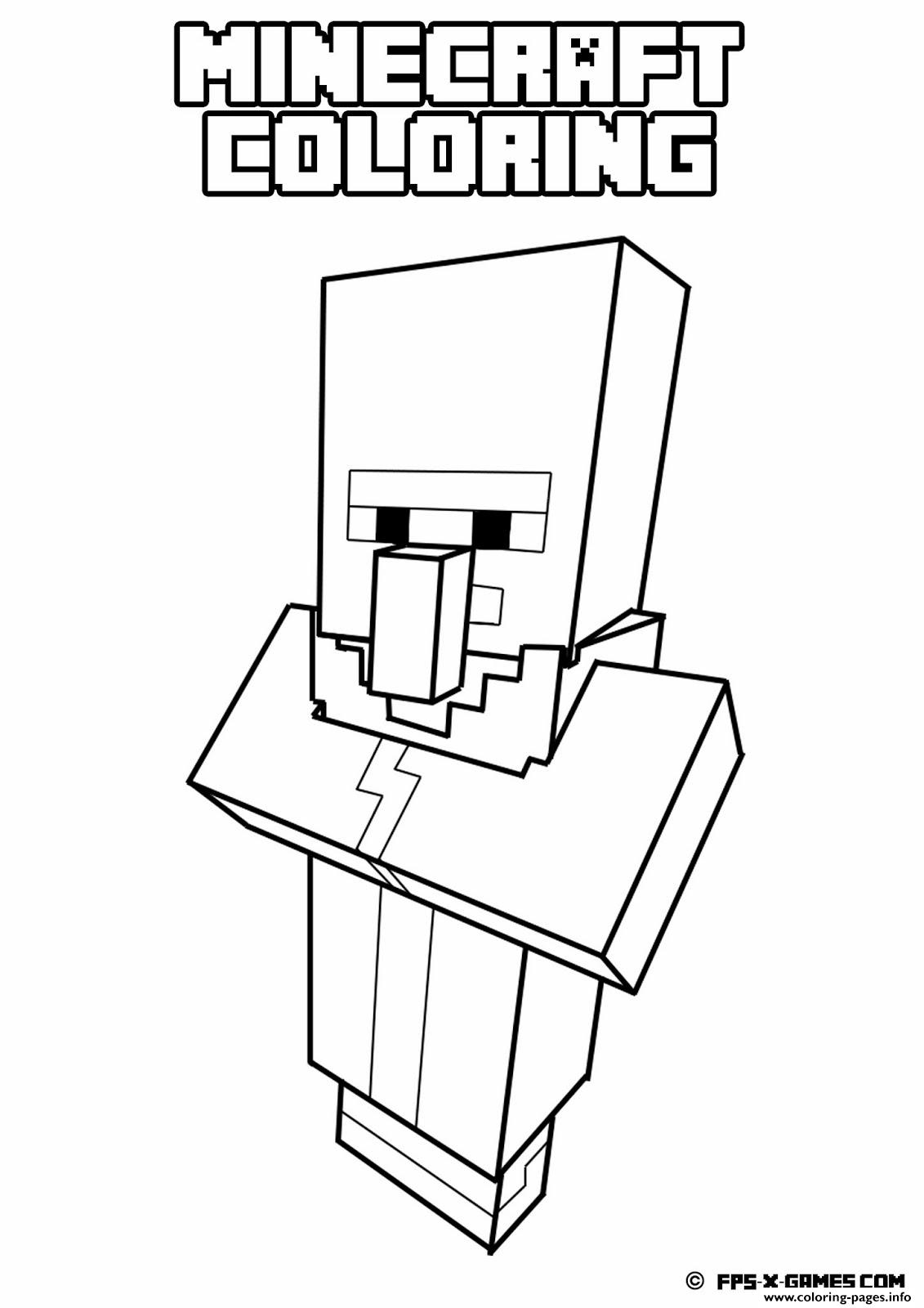 easy minecraft coloring pages 40 printable minecraft coloring pages pages minecraft easy coloring