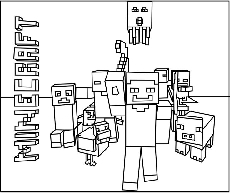 easy minecraft coloring pages minecraft coloring pages free printable coloring pages easy pages minecraft coloring