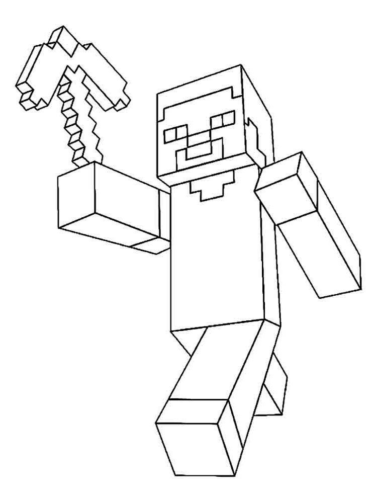 easy minecraft coloring pages minecraft coloring pages print them for free 100 pages minecraft coloring easy 1 1
