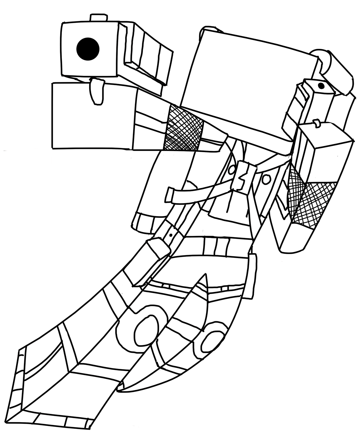 easy minecraft coloring pages minecraft coloring pages printable free 2015 by pages minecraft easy coloring