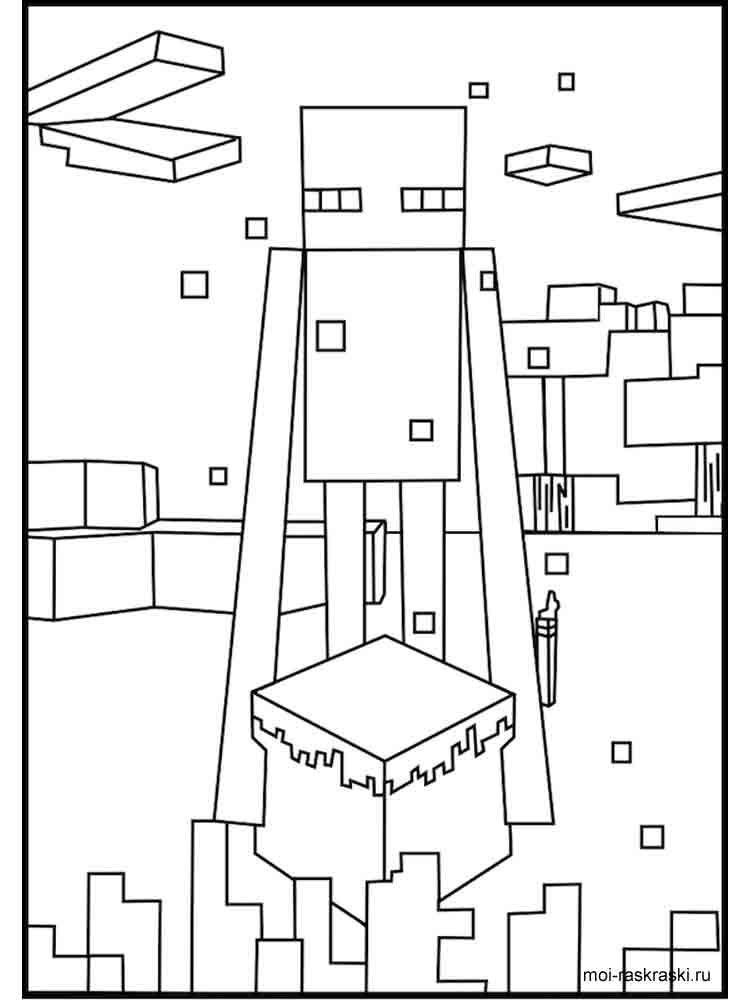 easy minecraft coloring pages minecraft creeper drawing at getdrawings free download coloring minecraft pages easy