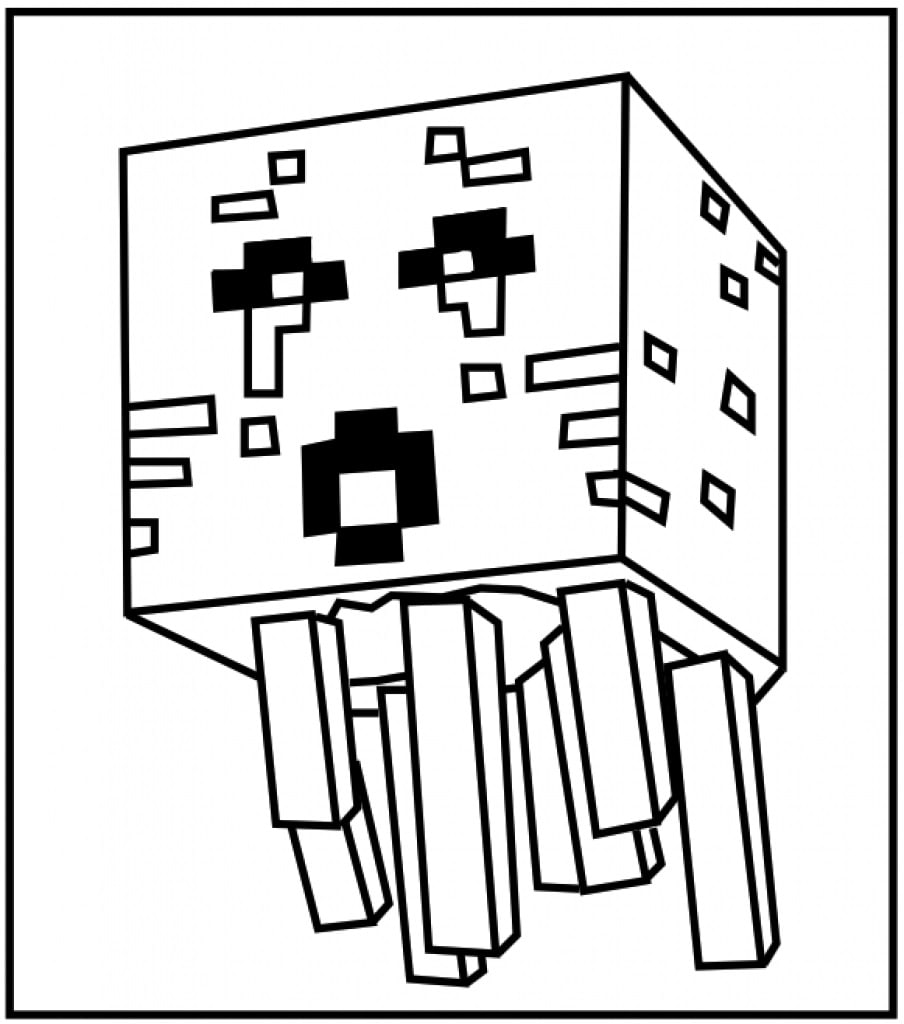 easy minecraft coloring pages minecraft horse minecraft coloring pages coloring pages minecraft easy pages coloring