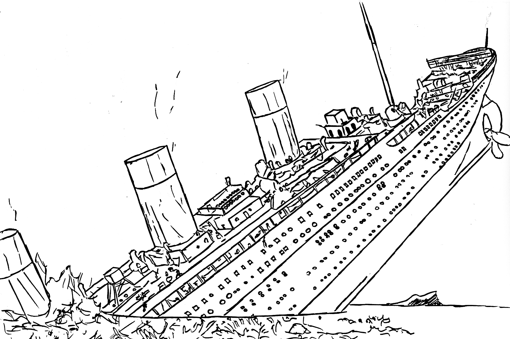 easy titanic coloring pages completo titanic para colorir desenhos para pintar e coloring pages titanic easy