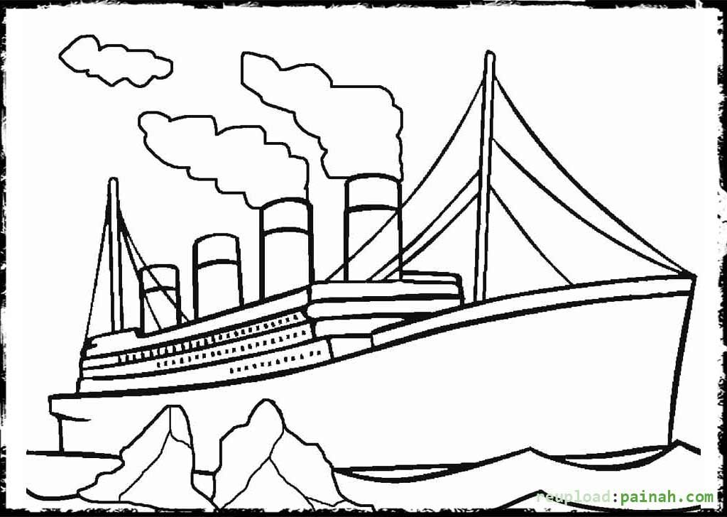easy titanic coloring pages printable titanic coloring pages for kids cool2bkids easy titanic pages coloring