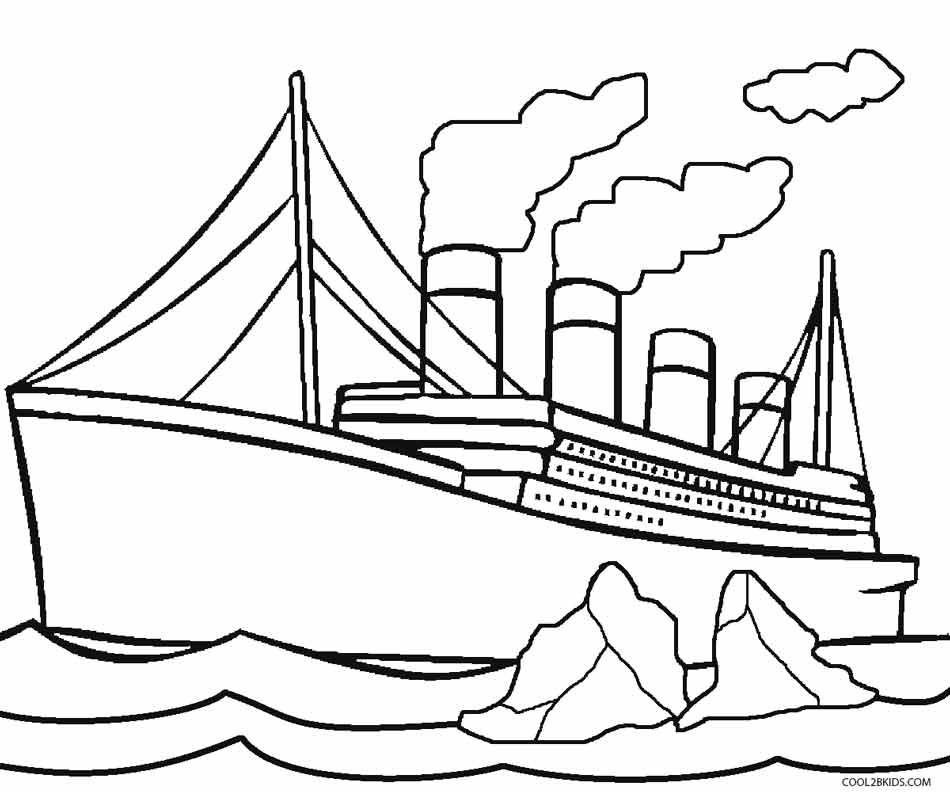easy titanic coloring pages titanic coloring pages titanic pages easy coloring