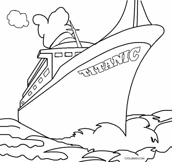 easy titanic coloring pages titanic sinking drawing at getdrawings free download pages coloring titanic easy