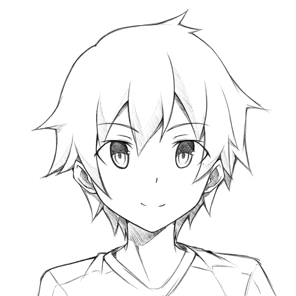easy to draw anime boy easy anime boy drawing at getdrawings free download easy boy draw anime to