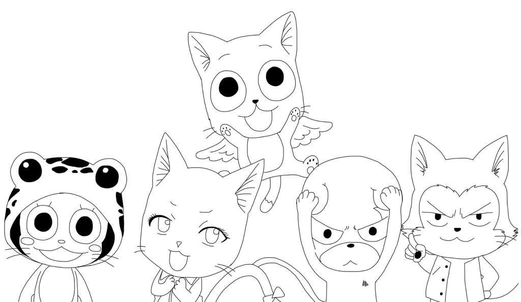 easy to draw characters how to draw neko characters from fairy tail anime amino draw easy to characters