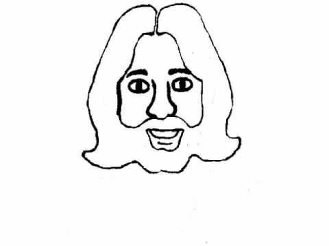 easy to draw god bible cartoon drawing lord jesus christ youtube easy to draw god