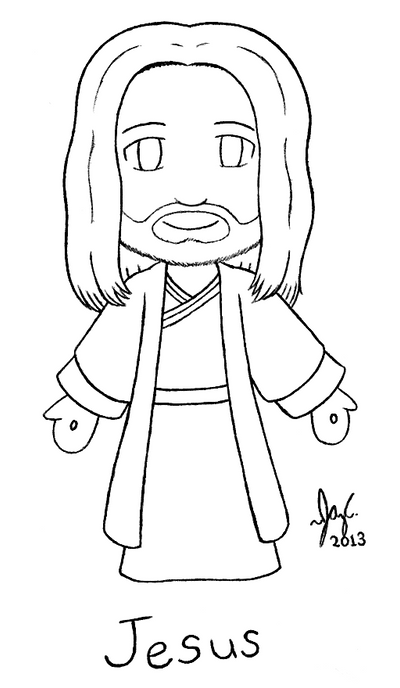 easy to draw god christ jesus chibi line art by jazzy c oaks on deviantart to god easy draw