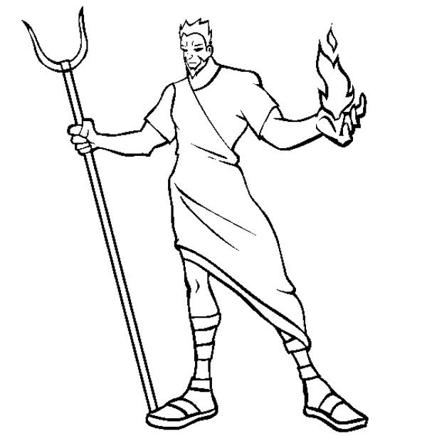 easy to draw god hades the greek myth god coloring page netart god to easy draw