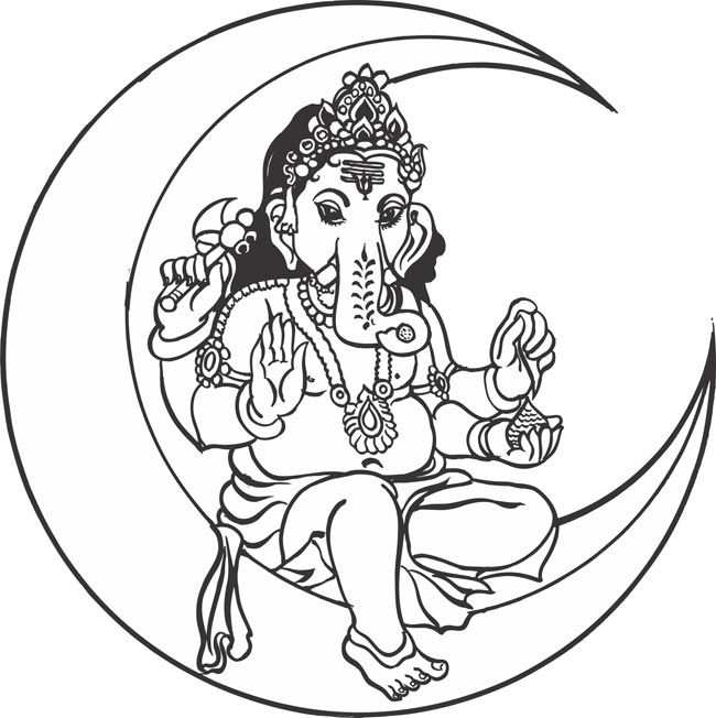 easy to draw god indianhindugodlordpilayarvinayagarganapathiganesha to draw god easy