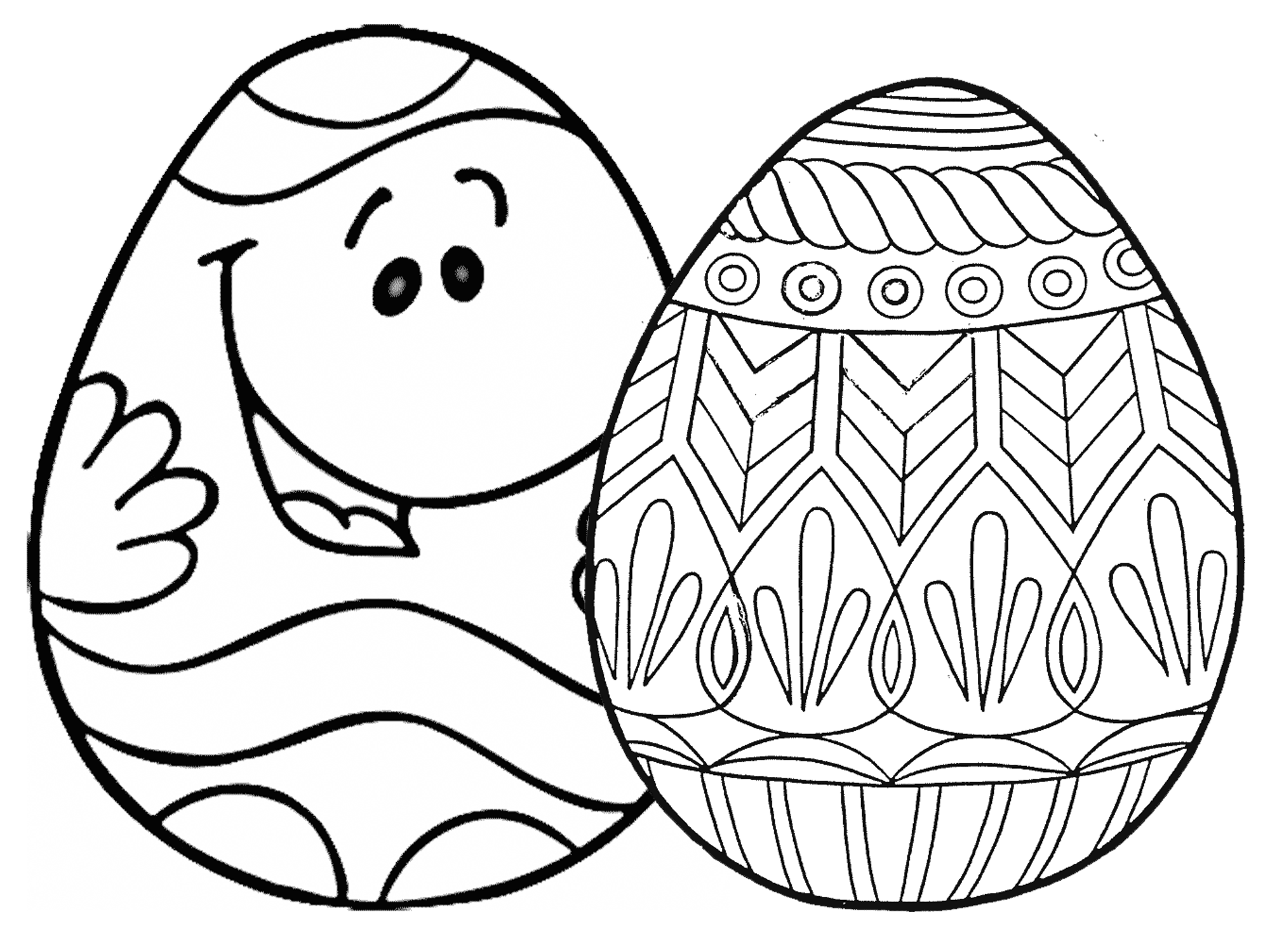 egg coloring page craftsactvities and worksheets for preschooltoddler and coloring page egg