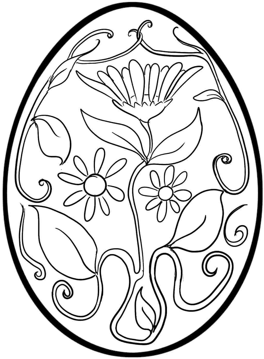 egg for colouring easter adult coloring pages free printable downloads for colouring egg
