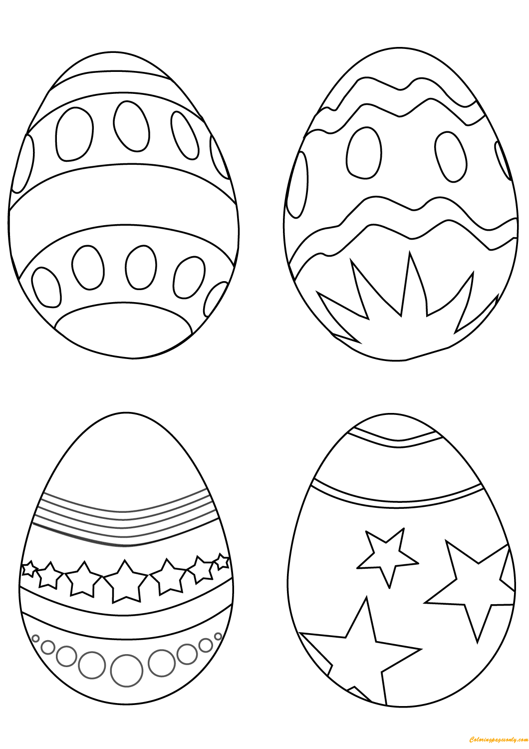 egg for colouring free printable easter egg coloring pages for kids colouring for egg