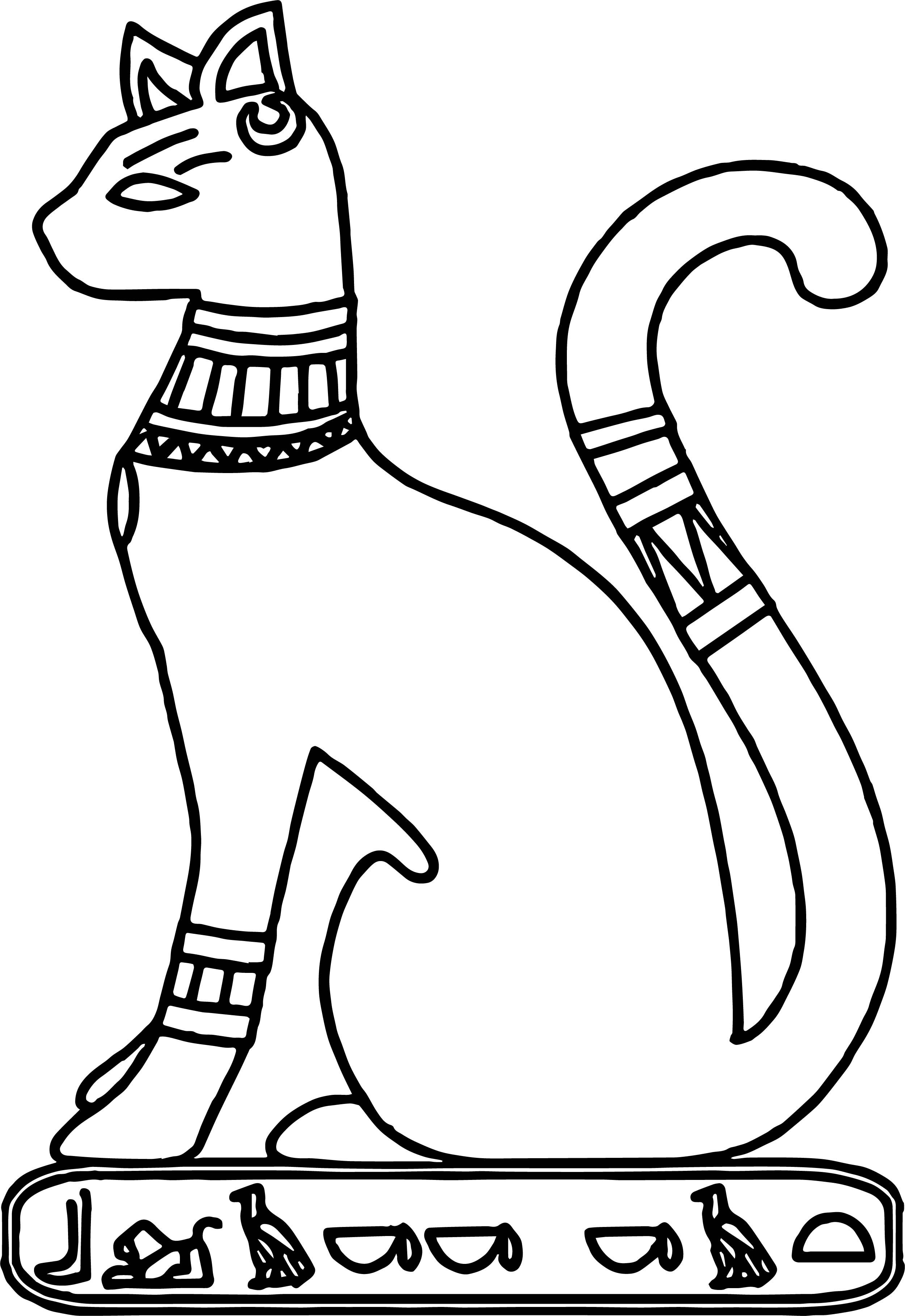 egyptian cat coloring page awesome new ancient egypt cat coloring page cat coloring egyptian cat coloring page