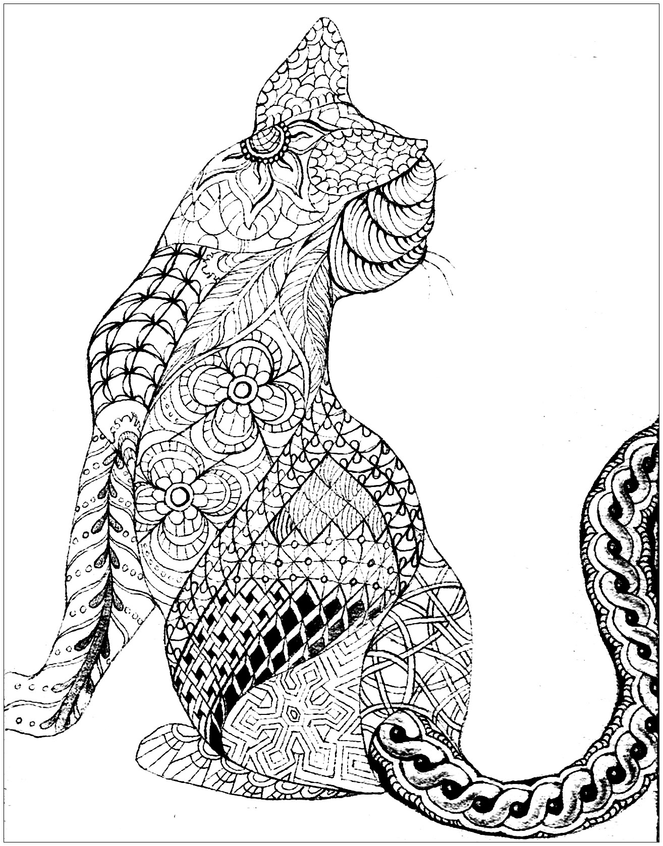 egyptian cat coloring page egyptian cats adult coloring book printable adult cat coloring egyptian page