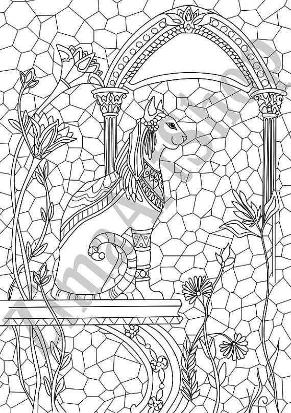 egyptian cat coloring page egyptian mau cat coloring book page sheet 006 kids time coloring cat egyptian page