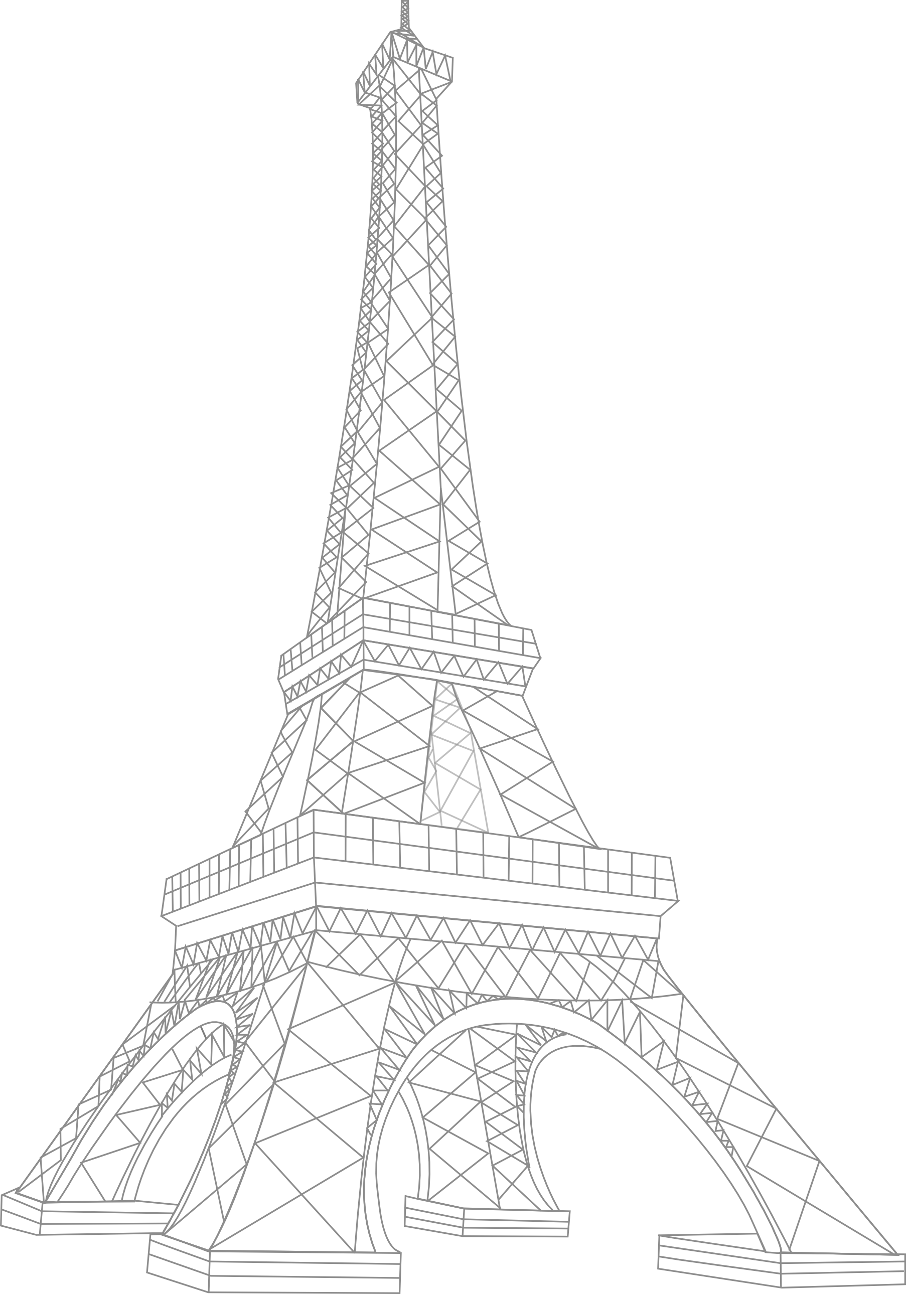 eifell tower drawing the happy booker vive la reb drawing tower eifell