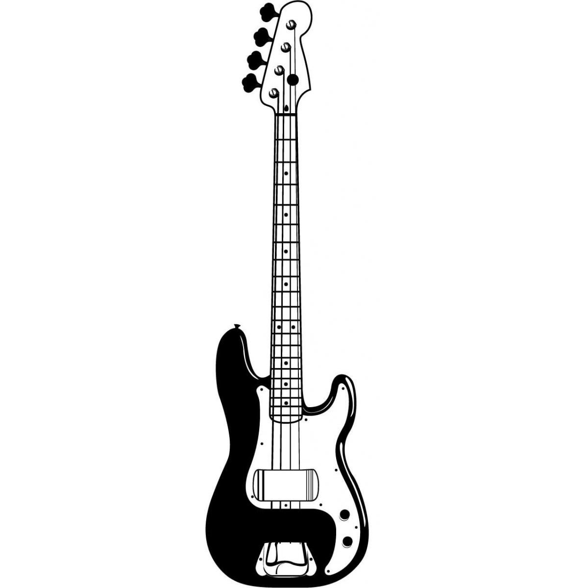 electric guitar drawing bass guitar clipart 20 free cliparts download images on guitar drawing electric