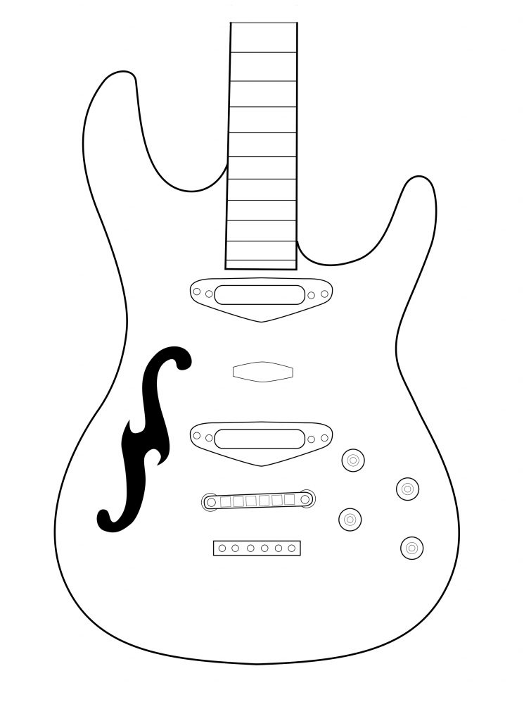 electric guitar drawing electric guitar drawing free download on clipartmag electric drawing guitar