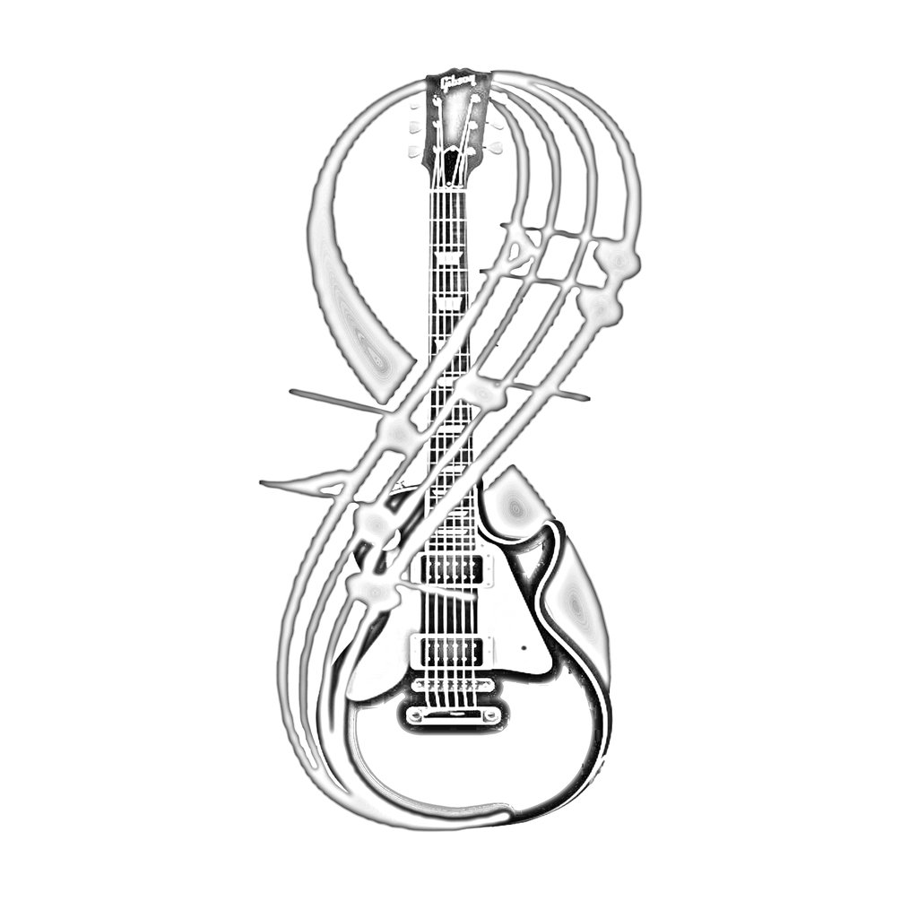 electric guitar drawing electric guitar line drawing at getdrawings free download guitar electric drawing
