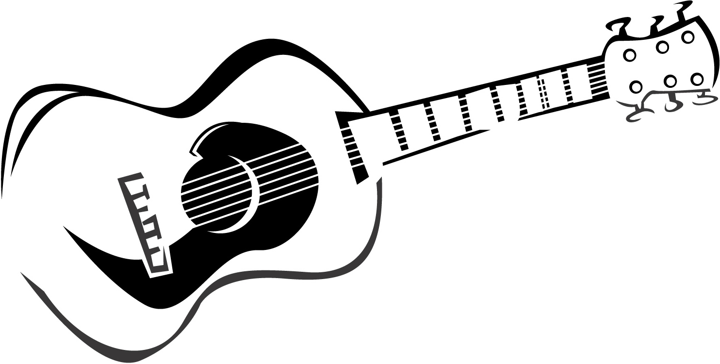 electric guitar drawing guitar clipart black and white free download on clipartmag drawing guitar electric