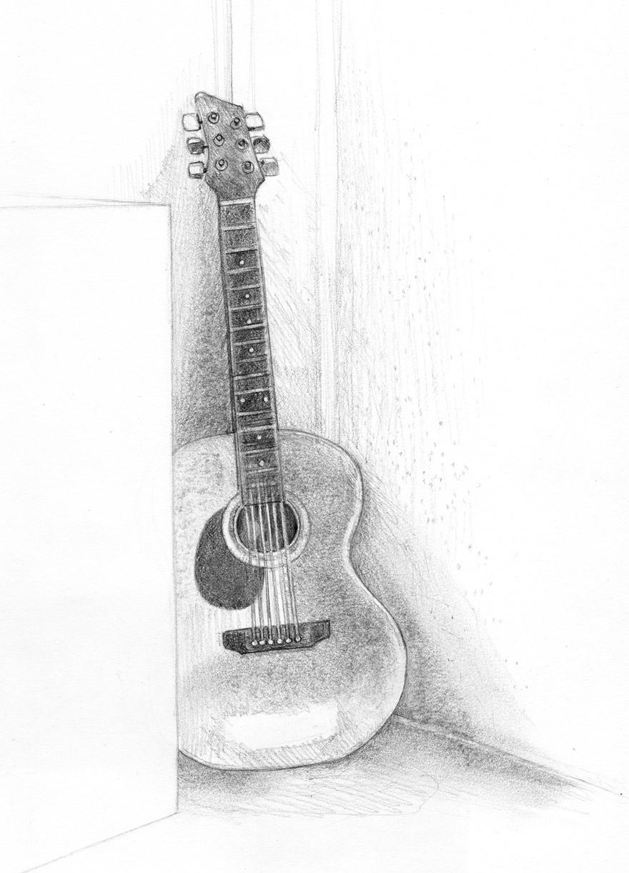 electric guitar drawing guitar pencil sketches at paintingvalleycom explore electric guitar drawing