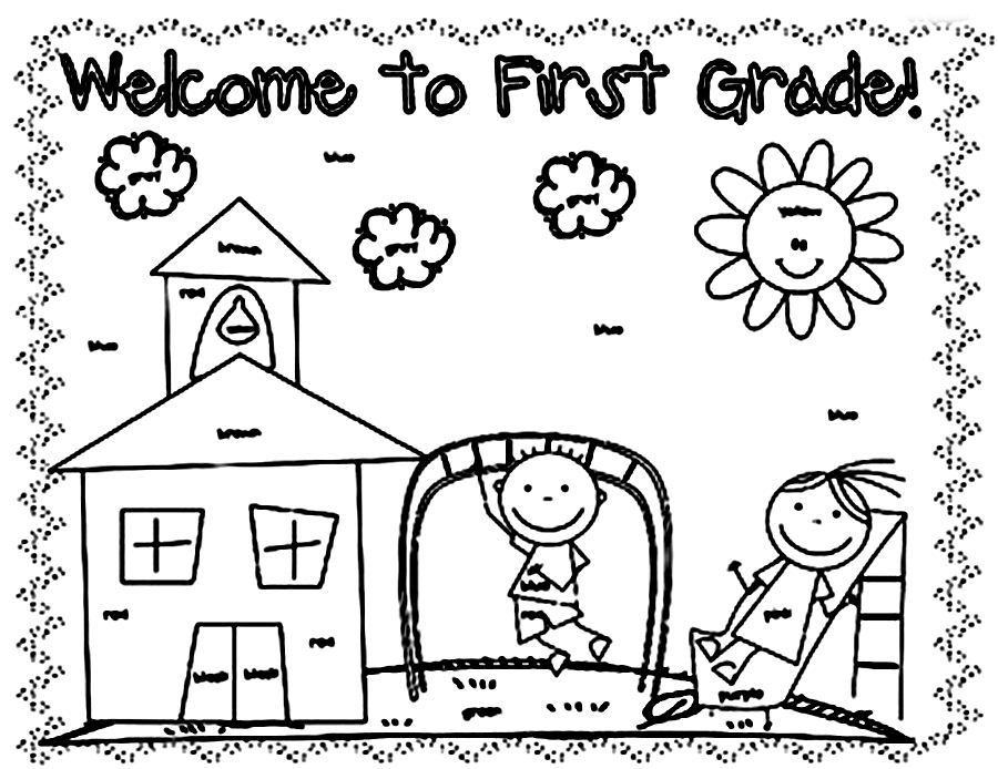 elementary school coloring pages back to school coloring pages printables classroom doodles coloring elementary pages school