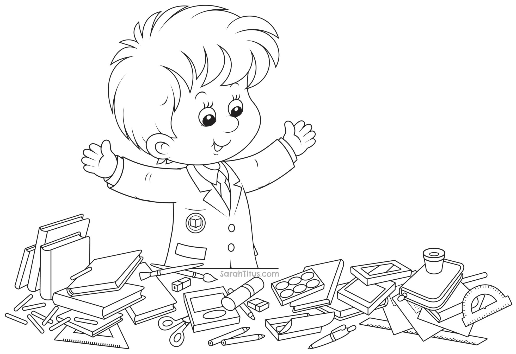 elementary school coloring pages back to school coloring pages sarah titus from pages elementary school coloring