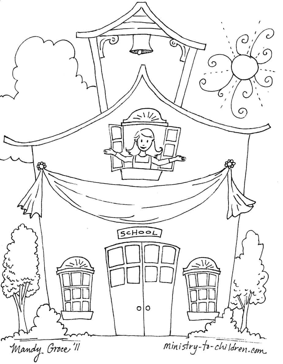 elementary school coloring pages elementary school coloring pages at getcoloringscom elementary pages coloring school