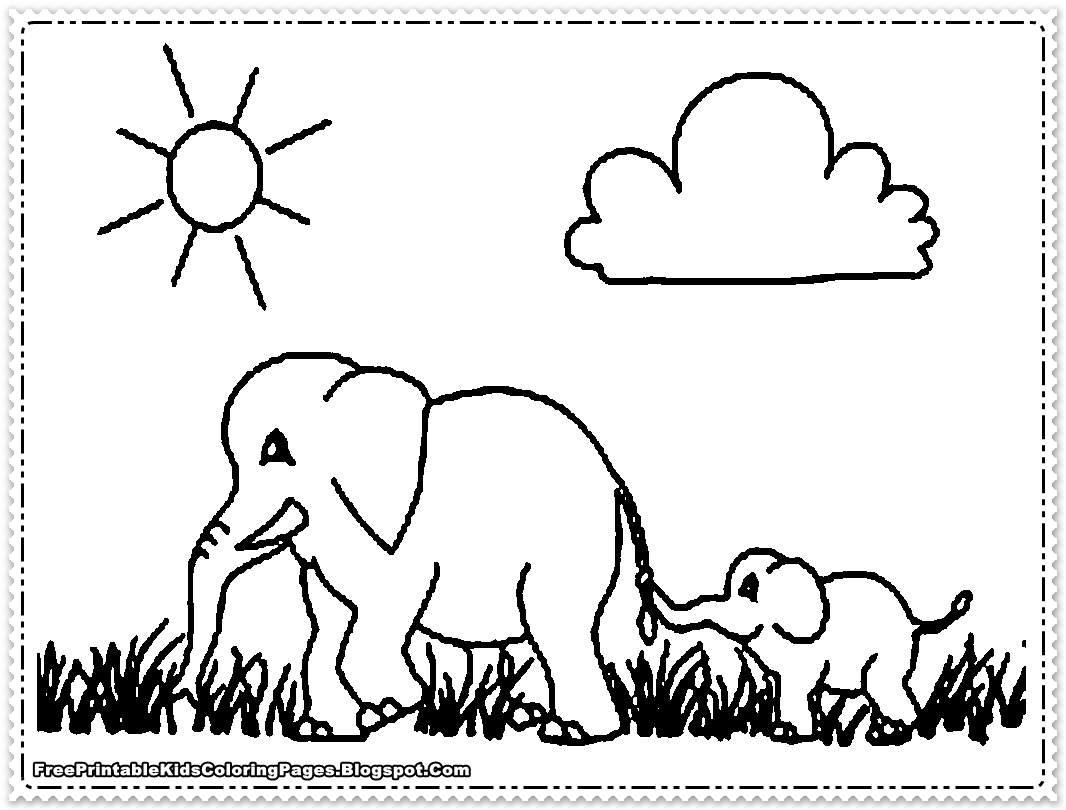 elephant coloring sheets printable elephant coloring pages printable free printable kids coloring sheets printable elephant