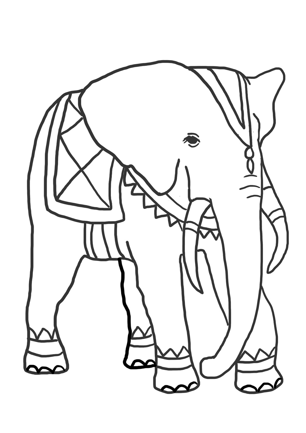 elephants coloring pages funny elephant coloring pages pages coloring elephants