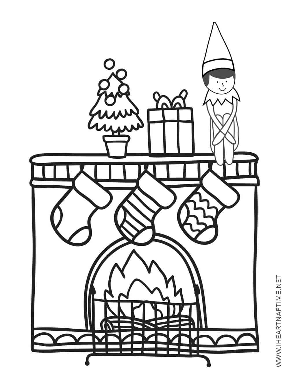 elf on the shelf coloring page 3 elf on the shelf coloring pages freebie finding mom on page coloring the shelf elf