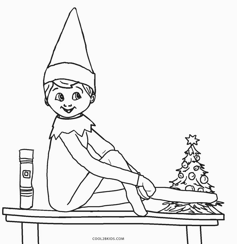 elf on the shelf coloring page free elf on the shelf coloring pages coloring home coloring shelf on page the elf