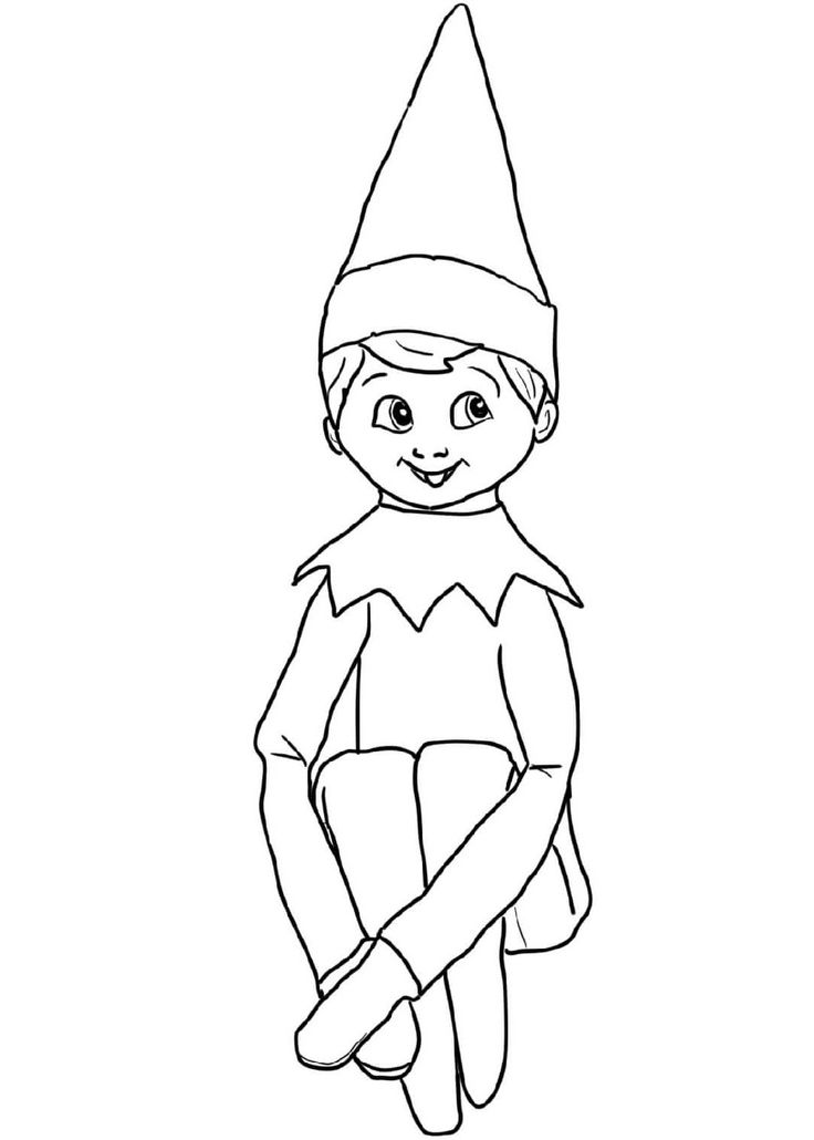 elf on the shelf coloring page free elf on the shelf coloring pages printable coloring shelf on page elf coloring the