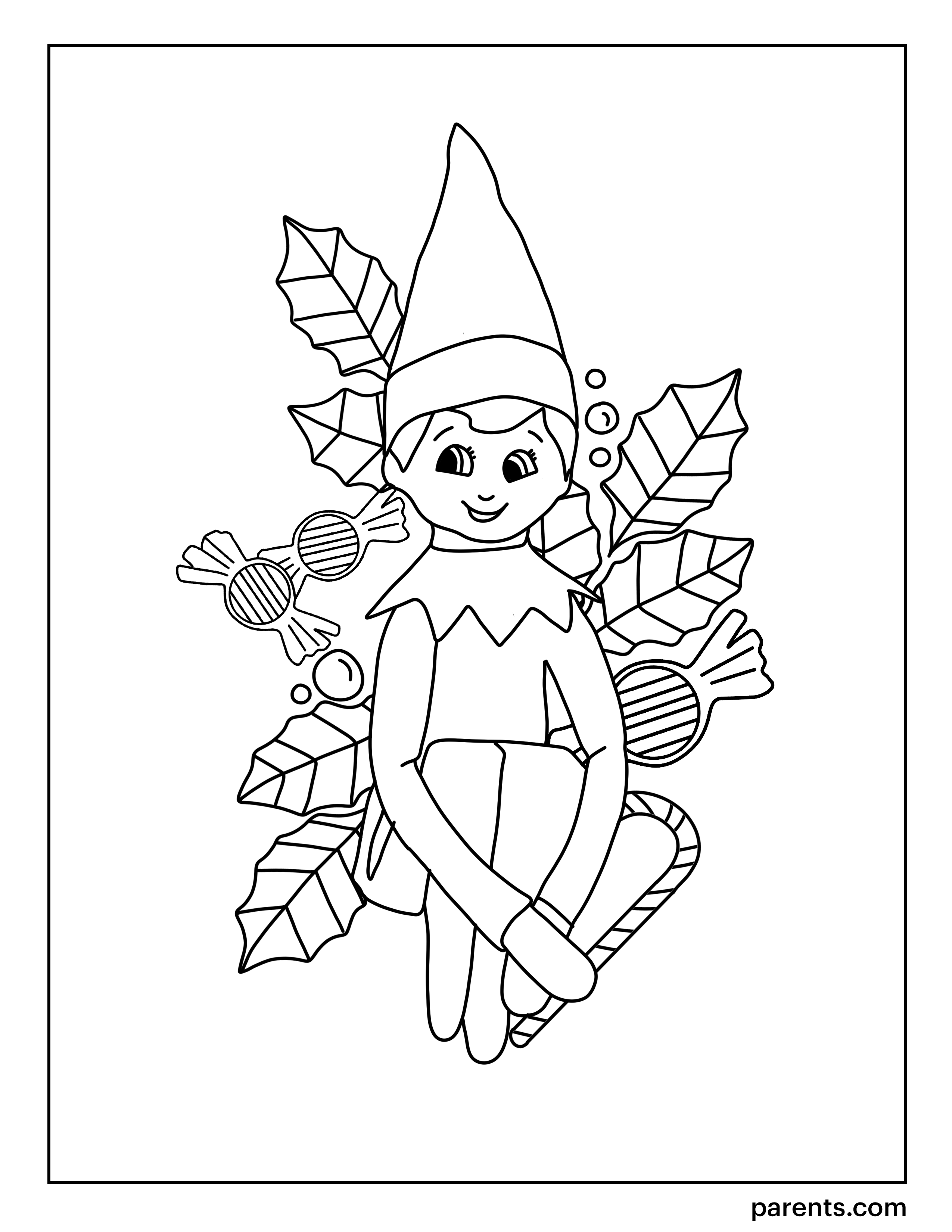 elf on the shelf coloring page my cup overflows december 2017 page elf coloring the on shelf