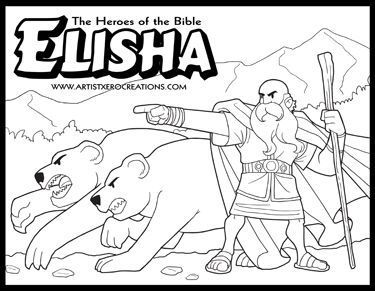 elisha coloring page quotes of the prophet elisha quotesgram page coloring elisha